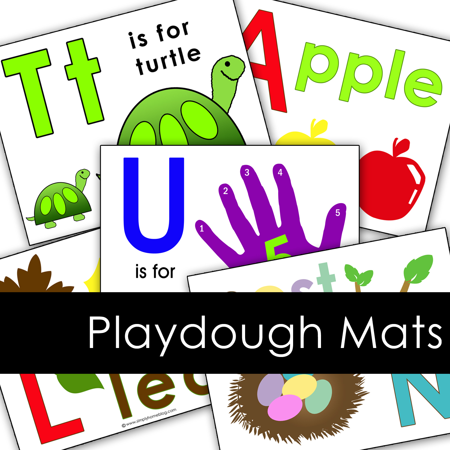 playdough mat blog