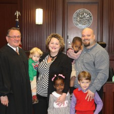 It is final and official, what sweet words to type- this is us with the judge.